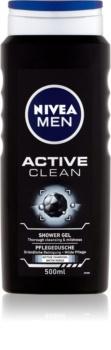 Nivea Men Active Clean gel za tuširanje za lice, tijelo i kosu za muškarce