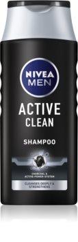 Nivea Men Active Clean Hiustenpesuaine Aktiivihiilellä