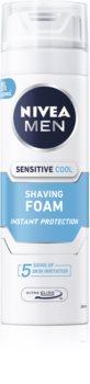 Nivea Men Sensitive spumă pentru bărbierit cu efect racoritor