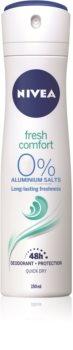 Nivea Fresh Comfort Spray deodorant 48 timer