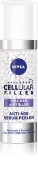Nivea Cellular Anti-Age Intens og udfyldende serum mod rynker med Hyaluronsyre til ansigt, hals og bryst