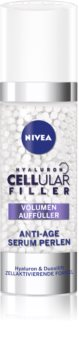 Nivea Cellular Anti-Age Intense Filling Anti-Wrinkle Serum with Hyaluronic Acid for Face, Neck and Chest