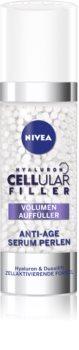 Nivea Cellular Anti-Age интензивен попълващ серум против бръчки с хиалуроноваа киселина за лице, врат и деколкте