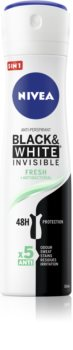Nivea Invisible Black & White Fresh anti-transpirant anti-traces blanches et jaunes