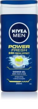 Nivea Power Refresh gel de douche