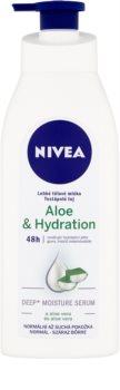 Nivea Aloe Hydration leichte Body lotion mit Aloe Vera