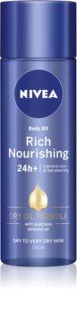 Nivea Rich Nourishing odżywczy olejek do ciała