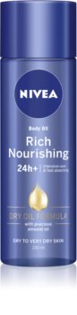 Nivea Rich Nourishing ulei corporal nutritiv