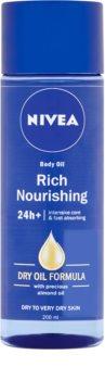 Nivea Rich Nourishing olio corpo nutriente