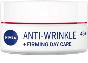 Nivea Anti-Wrinkle Firming стягащ дневен крем против бръчки 45+