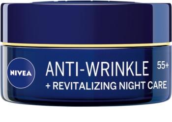 Nivea Anti-Wrinkle Revitalizing възстановяващ нощен крем против бръчки