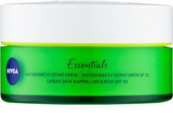Nivea Urban Skin antioxidačný denný krém s kyselinou hyalurónovou