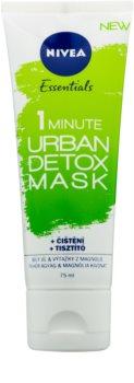 Nivea Urban Skin Detox masca detoxifiere și curățare