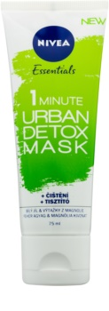 Nivea Urban Skin Detox детоксикираща почистваща маска