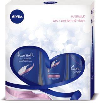 Nivea Hairmilk lote cosmético I.
