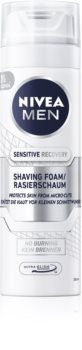Nivea Men Sensitive пяна за бръснене  за чувствителна кожа на лицето
