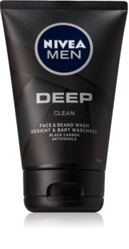Nivea Men Deep Washing Gel for Face and Beard
