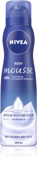 Nivea Deep Moisture Body Mousse with Nourishing Effect