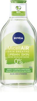 Nivea Urban Skin Detox acqua micellare 3 in 1 con estratto di the verde