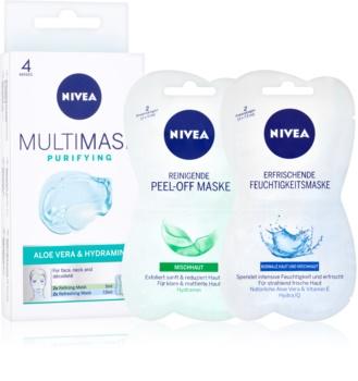Nivea Multi-Mask reinigende Maske für das Gesicht mit Aloe Vera
