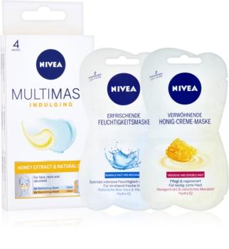 Nivea Multi-Mask Nourishing Mask with Honey