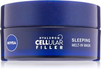 Nivea Hyaluron Cellular Filler Maske für die Nacht mit Hyaluronsäure