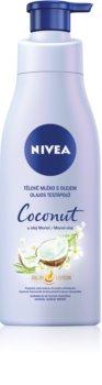 Nivea Coconut & Monoi Oil ošetrujúce telové mlieko s olejom