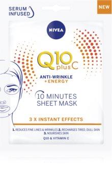 Nivea Q10 Plus C sheet maska protiv bora