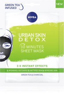 Nivea Urban Skin Detox почистваща и детоксикираща маска с активен въглен