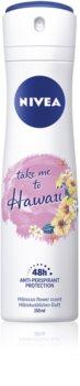 Nivea Take me to Hawaii Antiperspirant Spray 48h