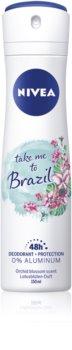 Nivea Take me to Brazil deodorante con effetto 48 ore