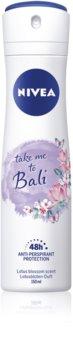 Nivea Take me to Bali antiperspirant ve spreji