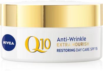 Nivea Q10 Power eine reichhaltige Tagescreme gegen Falten