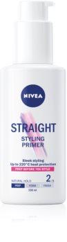 Nivea Styling Primer Straight Geeliemulsio Hiusten Pehmentämiseen