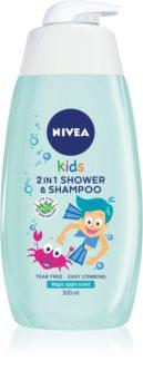 Nivea Kids Magic Apple shampoing et gel de douche pour enfant