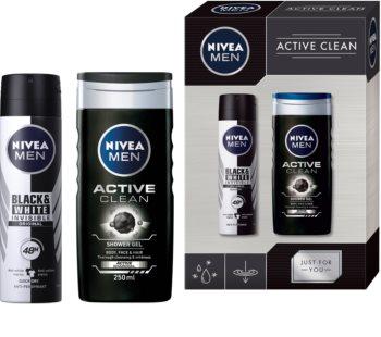 Nivea Men Active Clean coffret X. (para homens)