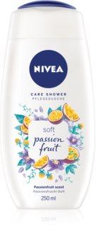 Nivea Care Shower Passion Fruit gel calmant pentru dus