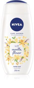 Nivea Care Shower Vanilla Shower απαλό τζελ για ντους