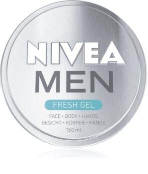 Nivea Men gel refrescante para cara, cuerpo y manos