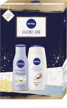 Nivea Coconut Care Gift Set with Nourishing and Moisturizing Effect