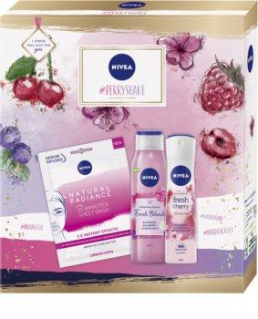 Nivea #Berryshake confezione regalo per il corpo
