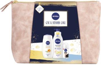Nivea Q10 & Vitamin Care подаръчен комплект (за тяло)