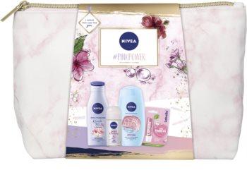Nivea #Pink Power dárková sada pro normální pokožku