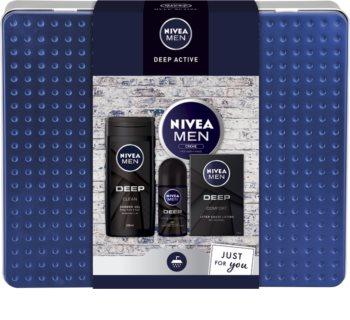 Nivea Men Deep dárková sada (pro muže)