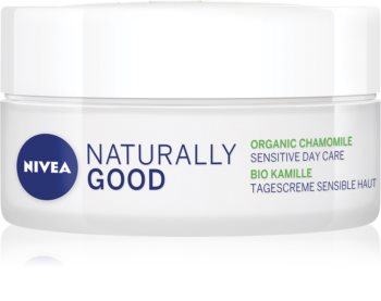 Nivea Naturally Good Soothing Day Cream With Chamomile