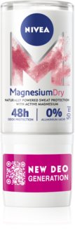 Nivea Magnesium Dry déodorant bille roll-on 48h