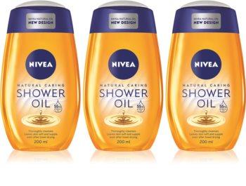 Nivea Natural Caring sprchový olej pro suchou pokožku