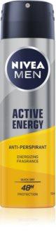Nivea Men Active Energy антиперспирант-спрей 48 часа
