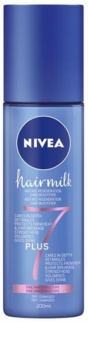 Nivea Hairmilk 7 Plus regenerierender spülfreier Conditioner für feines Haar