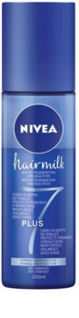 Nivea Hairmilk 7 Plus acondicionador regenerador sin aclarado para cabello normal
